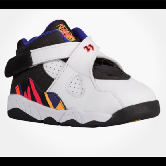 new concept e64e0 0a768 Jordan Other - Nike Air Jordan 8 Retro 3 Peat White Purple Black